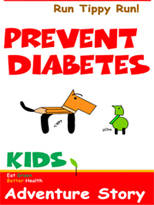 Diabetes Prevention Children's Book Childrens Book - Draw Me Healthy