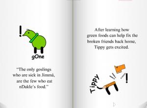 diabetes book for kids run-tippy-run